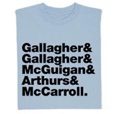 Oasis INTERA ORIGINALE FASCIA CAMPIONATO Gallagher MUSICA T-shirt Maglietta -