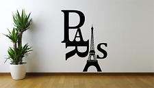 L'EUROPA Parigi Francia Torre Eiffel Cool Adesivo Decalcomania parete di casa AT7