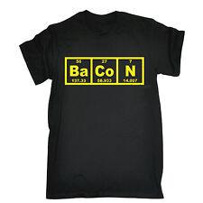 Bacon Periodic Table T-SHIRT tee chemistry teacher funny birthday gift present