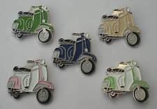 Vespa Scooter Mod Enamel Pin Badge Gift Set
