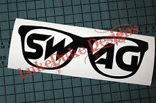 SWAG GLASSES Sticker Decal Vinyl JDM Euro Drift Lowered illest Fatlace Vdub