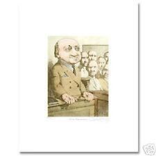 Charles Bragg CROSS EXAMINATION Ltd Ed S/N Legal Litho
