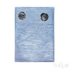 Vorhang Haus Ausstattung Luana Satin Ändern blau 2 Stücke aus 150x280 Spikes