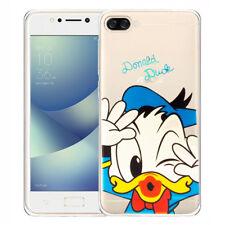 SILICONE TPU mobile Housse de protection Cartoon Canard Donald pour Asus Zenfone
