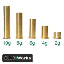 "Brass shaft tip swing weights - For steel iron shafts .355"" & steel wood shafts"
