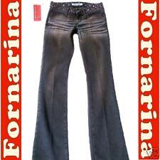 ROCK★STAR★PANT Black Used Nieten Stretch JEANS g.27/34