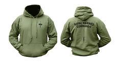 Combate del Ejército militar Royal Marines Commando Marino sweathirt sudadera con capucha Top