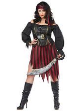 Queen Of The High Seas Swashbuckler Buccaneer Book Week Womens Costume Plus