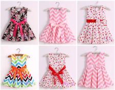 Cotton Summer Dresses Various patterns Strawberry Flower Rainbow Christmas Xmas