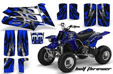 YAMAHA BANSHEE 350 CREATORX GRAPHICS KIT BOLT THROWER BLUE