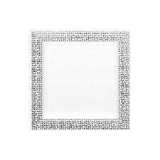FLAT Bright/effetto a specchio/mosaico FOTO/POSTER CORNICE Instagram quadrato argento