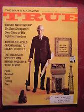 TRUE March 1967 GOLDENROD SAM SHEPPARD MIKE EPSTEIN +++