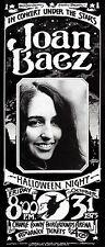 Joan Baez - Orange County Fairgrounds Arena - 1975 - Concert Ticket Poster