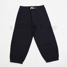 Pirate Pants BLACK Cosplay Reenactment SCA HEMA 100% Cotton Good Quality
