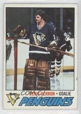 1977-78 Topps #119 Denis Herron Pittsburgh Penguins Hockey Card