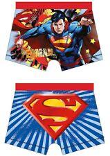 BAMBINO SUPERMAN UFFICIALE Character stampato Boxer Boxer ETÀ 4-10