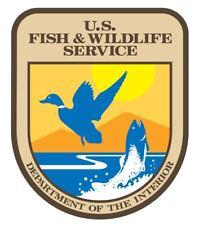US Fish & Wildlife Service Sticker R3256