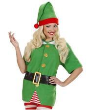 Costume Elfo Aiutante Babbo Natale Unisex Uomo Donna PS19514