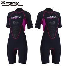 New listing Womens 3Mm Neoprene Scr Diving Wet Suit Short Sleeve Wetsuit Snorkeling Surf