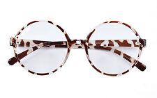 Agstum Retro Round Sun Glasses Frame Clear Lens Fashion Circle Eyeglasses 18003
