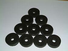 M6 Rubber Washers 25.5mm O/D X 6mm I/D X 5.5mm Thk, various quantities