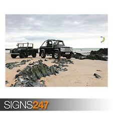 Land Rover 16 (AD185) cartel de auto-foto imagen arte cartel impresión A0 A1 A2 A3 A4