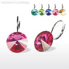 Ohrringe Rivoli 12 mm Hergestellt mit Swarovski ® Kristallen