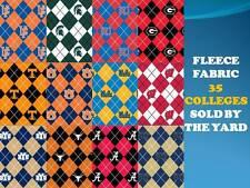 COLLEGE FLEECE FABRIC-UNIVERSITY FLEECE FABRIC-SOLD BY THE YARD-SCHOOLS N-Z #095