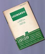 leonardo - serie arte mondadori -  1951 -