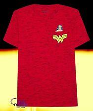 New DC Comics Wonder Woman Pocket  Mens Vintage T-Shirt