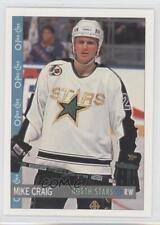 1992-93 O-Pee-Chee #103 Mike Craig Dallas Stars Hockey Card