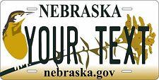 Nebraska 2011-16  Personalized Custom License Plate Car Motorcycle Bike
