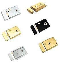 Carlisle Brass -  RDE8043 - RSE8053 - RSE8064 - EUROSPEC Traditional Rim Locks