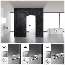 DORMA Studio Rondo Flüsterfalle Glastür Zimmertür Glastürbeschlag Glasschiebetür