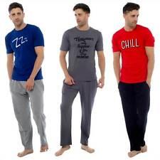 Conjunto de pijama con eslogan para hombre