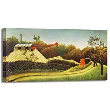 Rousseau segheria a Parigi design quadro stampa tela dipinto telaio arredo casa