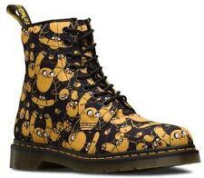 Dr. Martens Unisex Castel Lace Up Ankle Boots Adventure Time Jake Print Canvas N