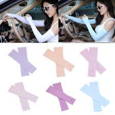 Blesiya 1 Pair Women Men UV Protection Anti Slip Arm Compression Sleeves