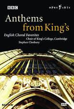 Anthem's For King's - English Choral Favorites (DVD, 2009, Opus Arte)