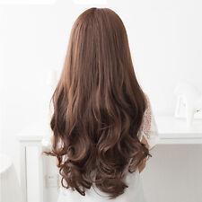 Damen Perücke Haarteil Volle Perücke Langhaarperücke Hair Wig Gewellt Langhaar