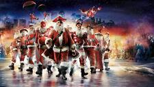 Christmas Home art wall Decor Santa Claus Oil painting HD Printed on canvas p72