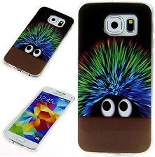 Schutz Hülle Apple HTC LG Sony Samsung Silikon Cover Case Etui Cooler Igel Color
