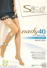 CALZE COLLANT SILCA NADY 40 DEN ALLEVIA STANCHEZZA 8/10 MMHG 6 COLORI DISPON.