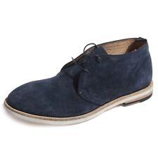 B0520 polacchino uomo SARTORI GOLD beatles blu indaco shoes men
