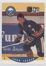 1990-91 Pro Set #420 John Tucker Buffalo Sabres Hockey Card