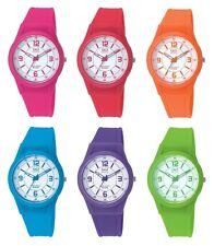 Q&q silicona analógico reloj de pulsera reloj señora colorido coloreada relojes unisex