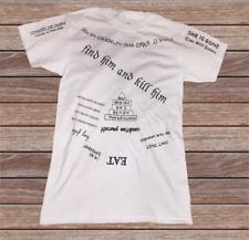 LEONARD T-Shirt from dvd/film MEMENTO Guy Pearce TATTOO INK INKED