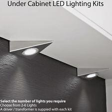 2.6W Kitchen Pyramid Spot Light & Driver Kits -Stainless Steel- Warm White