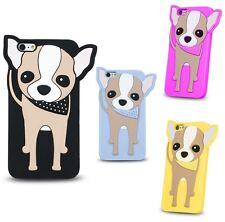 ^ BACK CASE 3D Animal Schutzhülle Silikon Case Tasche LG K3 K100  CHIHUAHUA