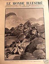 LE MONDE ILLUSTRE 1920 N 2238 LA GUERRE AU TRANSVALL